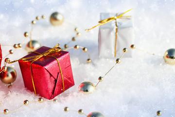Wall Mural - Christmas Gifts