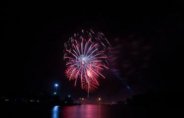 Holiday Celebration Fireworks Display