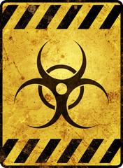 Biohazard Schild