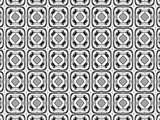 Black & white pattern wallpaper I.