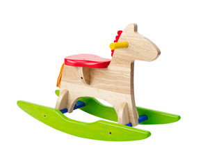 Cute rocking horse chair children could enjoy the riding