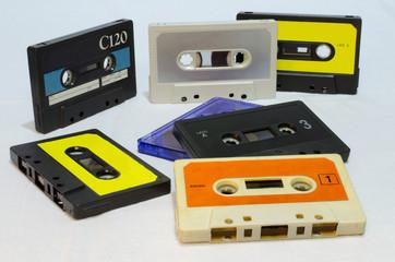 musicassette anni 80 vintage