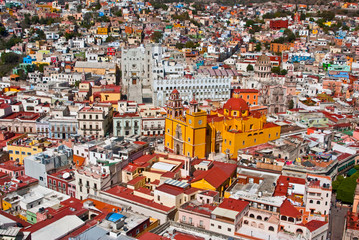 Canvas Prints Mexico Colonial architecture at its best Guanajuato Mexico