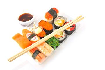 Sushi solated