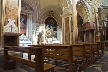 Cathedral of St. Nicola. Sant'Agata di Puglia. Puglia. Italy.