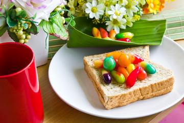 Thai's colorful desserts