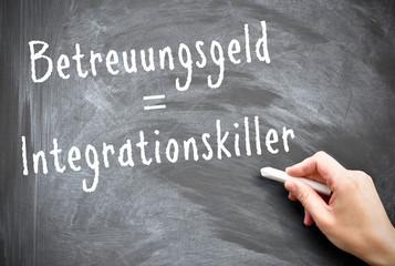 Betreuungsgeld = Integrationskiller