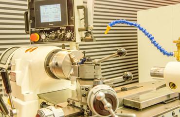 Industrial metalcutting machine