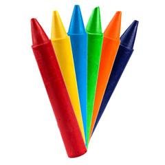 colored vax pencil