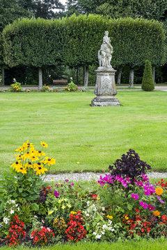 Luneville (France) - Park of castle
