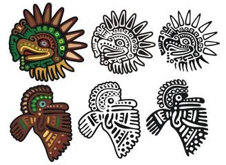 Mayan bird gods