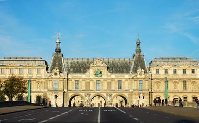 Entrata del Museo del Louvre, Parigi, Francia