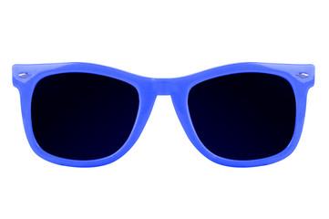 Women's blue sunglasses