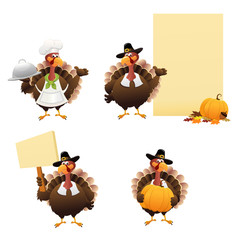 Thanksgiving Turkey Set