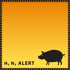 H1N1 Alert  background