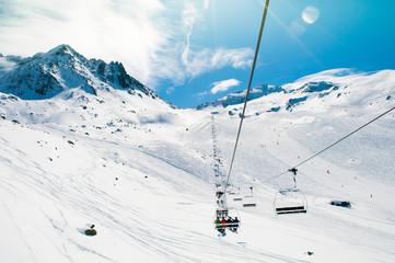 Skilift Val Thorens