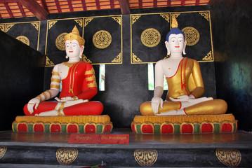 Buddha Statue in Wat Chedi Luang