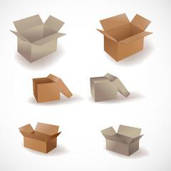 set 6 boxes