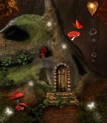 Wall Mural - Midsummer night's dream series - the secret house