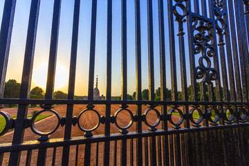 gate of house of parliament in india