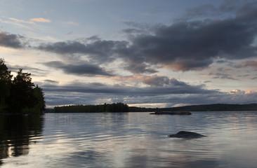 Lake View, Dalarna, Sweden