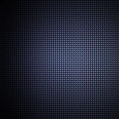 Blue carbon fiber texture