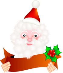 Babbo Natale con fascia