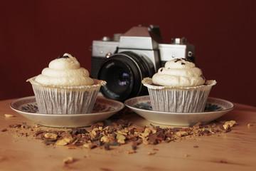 Muffins and camera