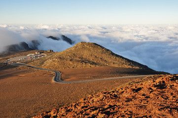 Road at Haleakala National Park - Maui, Hawaii