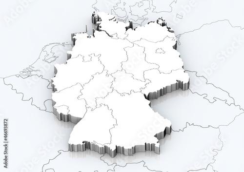 deutschland und angrenzende l nder detailgetreu stockfotos und lizenzfreie bilder auf fotolia. Black Bedroom Furniture Sets. Home Design Ideas