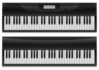 Two realistic synthesizer