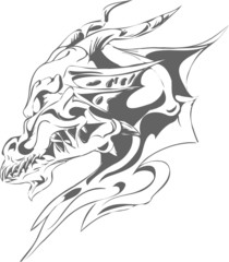 dragon tatoo