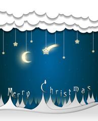 creepy merry christmas card