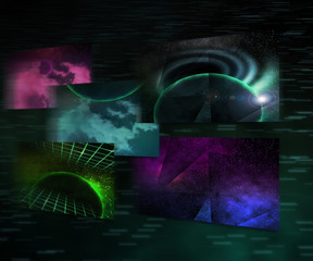 Space Images Background