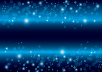 beautiful abstract blue background vector
