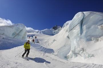Scialpinismo Vallee Blanche, Mont Blanc