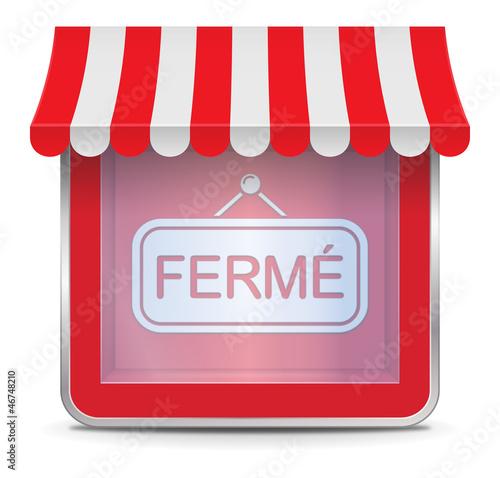 """Résultat de recherche d'images pour """"magasin fermé"""""""