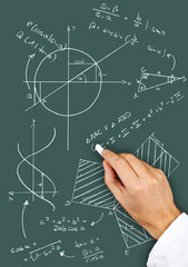 Math diagrams and formulas