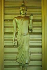 The buddha stand