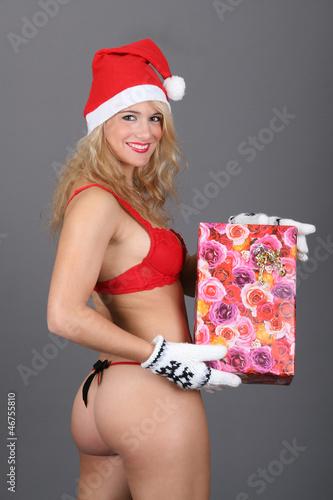 sexy weihnacht stockfotos und lizenzfreie bilder auf. Black Bedroom Furniture Sets. Home Design Ideas