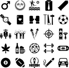 Boys icons