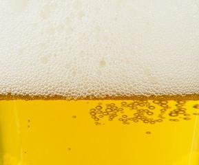 Lager light beer background
