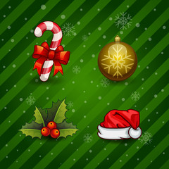 Christmas Icons/Objects Collection.
