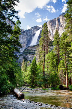 Vernal Falls, Mist Trail, Yosemite National Park
