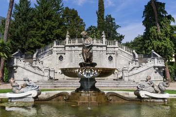 Villa Mayer Park fountain