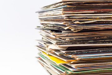 old vinyl disks
