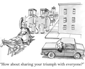 How about sharing your triumph with everyone