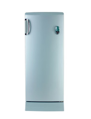 Nice refrigerator isolated on white