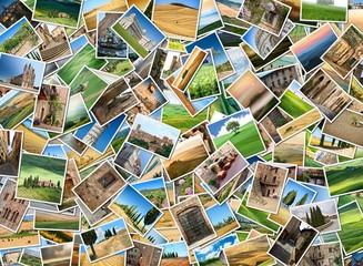 Many photos from Tuscany