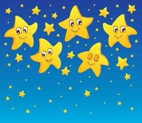 Theme with stars 1